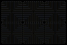 Repeating square background black Stock Images
