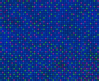 Repeating square pattern, predominantly blue, seamlessly tileabl Royalty Free Stock Image