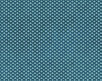 Repeating Teal Mermaid Fish Scale Pattern Stock Images