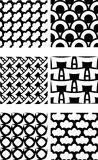 Repeating tile pattern Royalty Free Stock Images