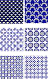 Repeating tile pattern Royalty Free Stock Photo