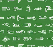 Repeating tools background Stock Image