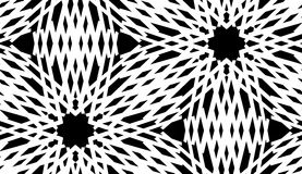 Repeating White Spiral Pattern vector illustration