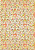 Repeats color pattern. Repetitive decorative color pattern for background stock illustration