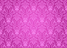 Repeats pink background. Repetitive decorative pink pattern for background Royalty Free Stock Image