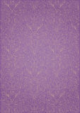 Repeats purple pattern. Repetitive decorative purple pattern for background Royalty Free Stock Photo
