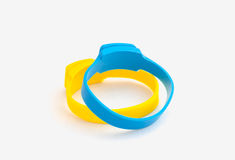 Repelente de insetos do mosquito dos braceletes do silicone Imagens de Stock
