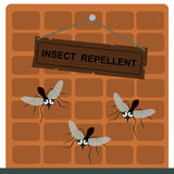 It repels insects Royalty Free Stock Image