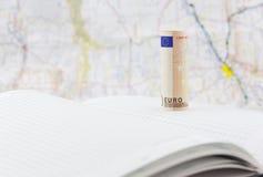 Repercusiones económicas europeas a continuación Fotografía de archivo libre de regalías