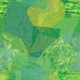 Repetição verde do papel de tecido Foto de Stock Royalty Free