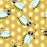 Repetición de la abeja Fotos de archivo libres de regalías