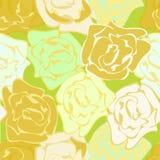 Repetición de las rosas Fotografía de archivo