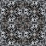 Repetición de plata floral Fotos de archivo
