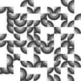 Repetición del fondo abstracto con los cuadrantes Imágenes de archivo libres de regalías