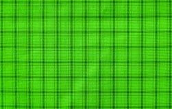 Repetición del modelo verde cuadrado en el paño Imagen de archivo