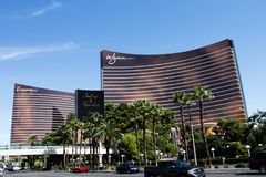 Repetición en Wynn Las Vegas imagen de archivo libre de regalías