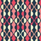 Repetición inconsútil abstracta del triángulo y diamante y formas redondas Ideal geométrico retro del fondo del diseño del v libre illustration
