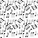 Repeticiones de la música Fotos de archivo libres de regalías