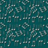 Repeticiones de la música Foto de archivo