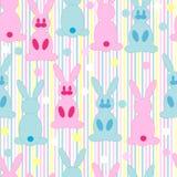 Repeticiones del conejo de la historieta Fotografía de archivo