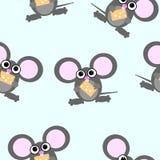 Repeticiones del ratón de la historieta Imagen de archivo