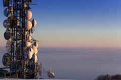 Repetidor da antena Foto de Stock
