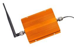 Repetidor de amplificación de la señal para el teléfono móvil del G/M Imagenes de archivo