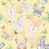 Repetindo o teste padrão pastel ilustração royalty free
