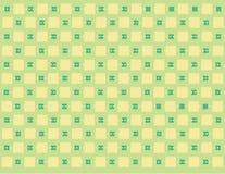 Repetindo o teste padrão quadrado Foto de Stock