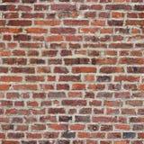 Repetindo a parede de tijolo Fotografia de Stock