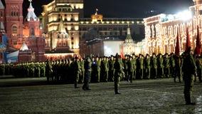 Repetitie van parade Royalty-vrije Stock Foto's