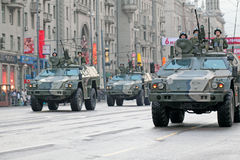 Repetitie van parade van een overwinning Royalty-vrije Stock Foto