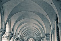 Repetitive Arches Stock Photography