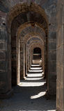 Repetitive Arches Royalty Free Stock Photos
