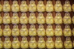 Repetitive Buddha Stock Photo