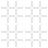 Geometric vector pattern, square abstract shapes seamless background, hipster monochrome decoration. Repetitive design in black and white, perfect for wallpaper Stock Image