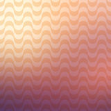 Repetitive geometric vector curvy waves pattern texture on blurred background Stock Photography