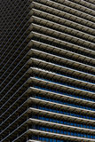 Repetitive horizontal louvers Royalty Free Stock Photography