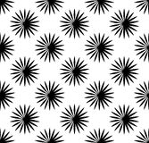 Repetitive pattern with radial-radiating lines. Abstract geometr. Ic monochrome background. Intersecting lines texture. - Royalty free vector illustration vector illustration