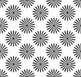 Repetitive pattern with radial-radiating lines. Abstract geometr. Ic monochrome background. Intersecting lines texture. - Royalty free vector illustration stock illustration