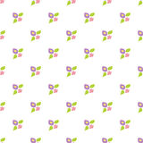 Repetitive seamless texture with abstract floral pattern. On a white background vector illustration