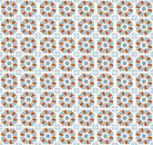Repetitive traditional pattern on metal surface orange and blue colored texture.eps. Repetitive traditional pattern on metal surface orange and blue colored vector illustration