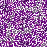 Repetitive violet pattern Stock Photo