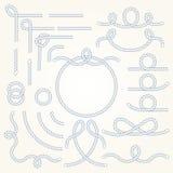 Repgränsbeståndsdelar Royaltyfri Bild