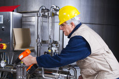 Repiarman at work Stock Image
