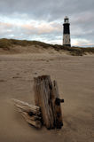 Repila a costa do leste principal Inglaterra de Yorkshire Fotografia de Stock Royalty Free