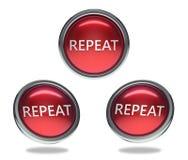 Repita el botón de cristal