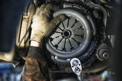 Replacement Car Clutch royalty free stock images