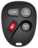 Replacement electronic keyless for cars Stock Photo