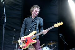 The Replacements legendary rock band performs at Primavera Sound 2015 Stock Image